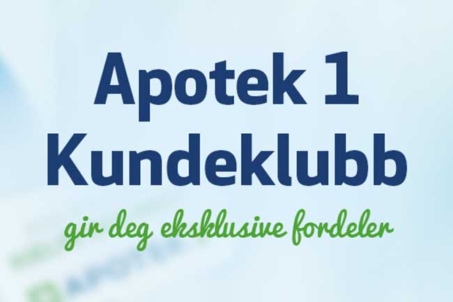 Apotek1 kundeklubb