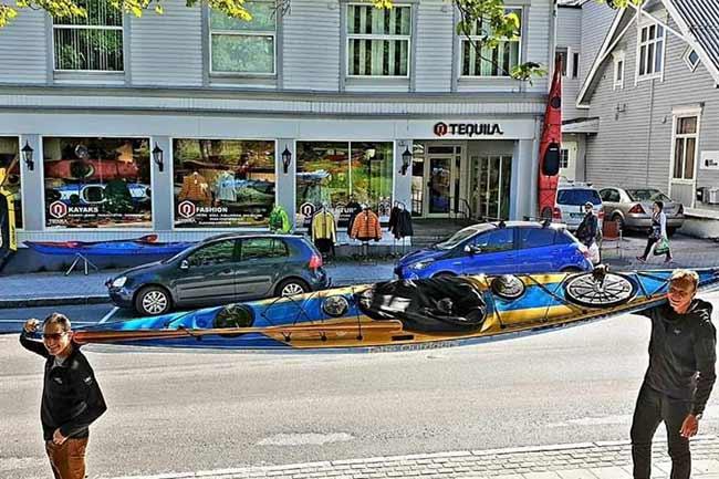 Tequila Kayaks - Harstad Sentrum
