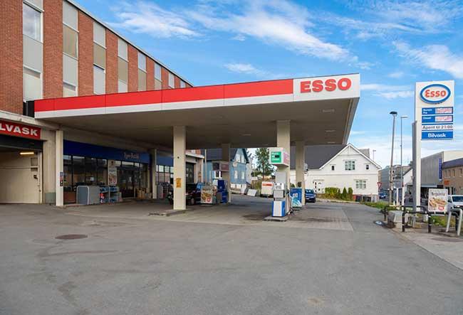 Esso - Harstad sentrum