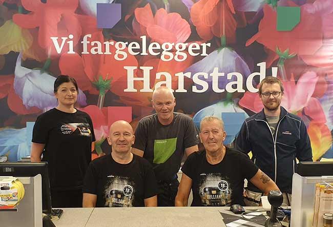 Fargerike - Harstad sentrum