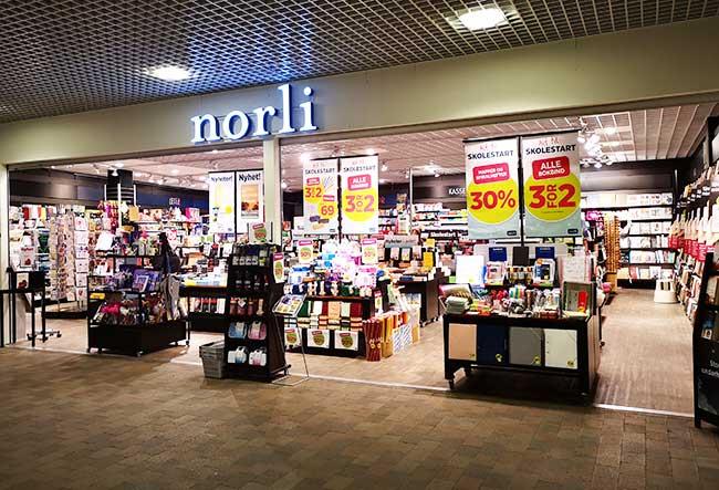 Norli - Bertheustorget - Harstad sentrum