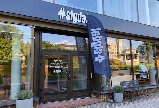 Sigdal - Harstad-sentrum