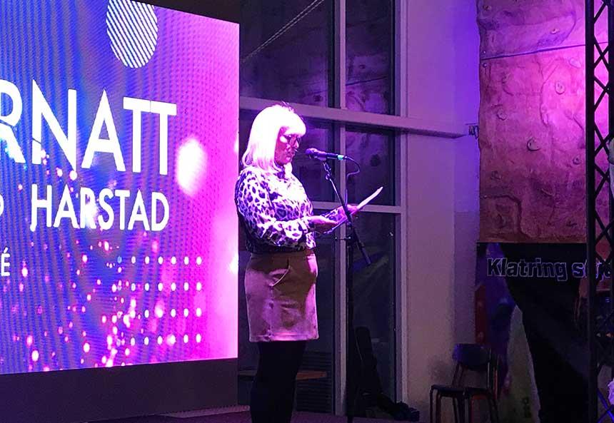 Kari Anne Opsal åpner Kulturnatt 2019 - Harstad sentrum
