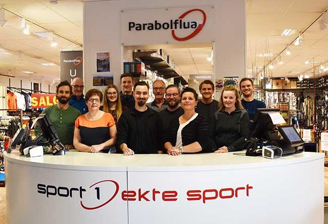 Parabolflua -gruppebilde - Harstad sentrum