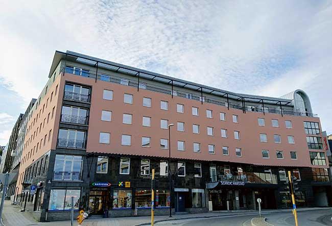 Fasade - Scandic Hotel Harstad - Harstad sentrum