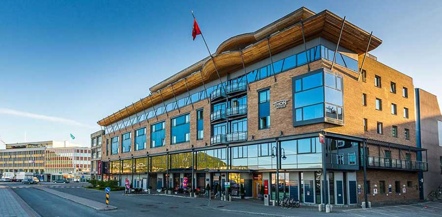 Thon hotel Harstad - fasade - Harstad sentrum