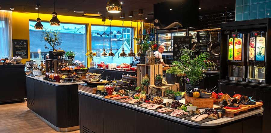 Thon hotel Harstad - frokost - Harstad sentrum