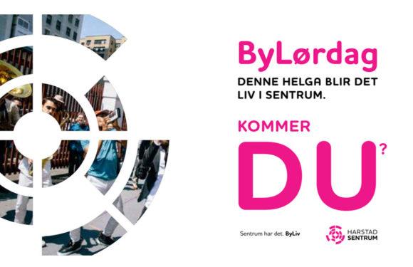 ByLørdag 15.2. med masse aktiviteter i Sentrum
