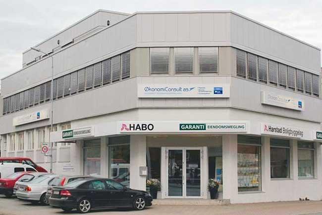 ØkonomiConsult -fasade - Harstad Sentrum