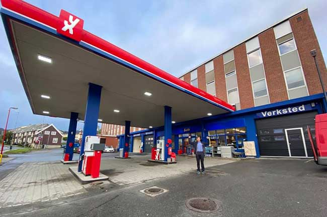 YX bensinstasjon - Harstad Sentrum